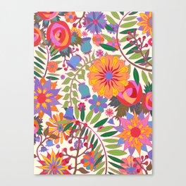Just Flowers Lite Canvas Print