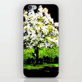 TREE OF THE MORNING LIGHT iPhone Skin