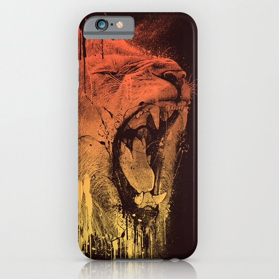 FIERCE LION iPhone & iPod Case