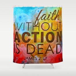James 2.17 Shower Curtain