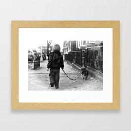 old soul. Framed Art Print