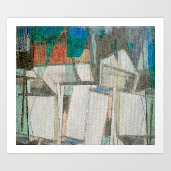 Stilt House 1 Art Print