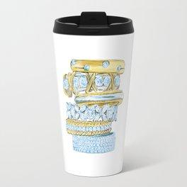 Golden Rings Travel Mug