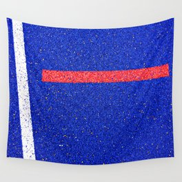 Red Line Wall Tapestry