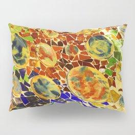 photo of colored mosaics // colored ceramics  Pillow Sham