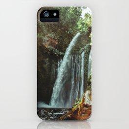 WATERFALL - Lombok, Indonesia iPhone Case