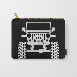 Jeep Black Chrome Carry-All Pouch