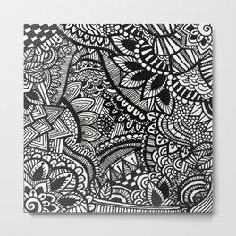 Blossom lines Metal Print