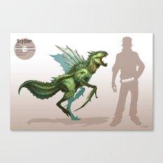 Pokemon-Scyther Canvas Print