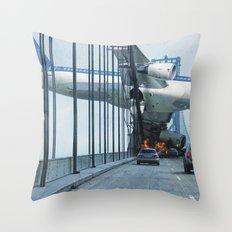 All is Lost Throw Pillow