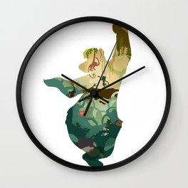 """Bear"" Necessities  Wall Clock"