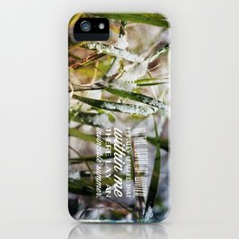 Invincible Summer. iPhone Case
