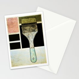 Artist Painters Paintbrush Stationery Cards