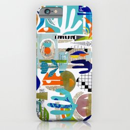 collage & go ... iPhone Case
