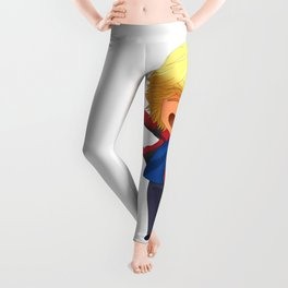 Will Solace chibi Leggings
