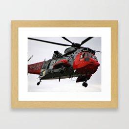 Sea King Rescue Framed Art Print