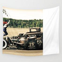 Hot Rod Racing II Wall Tapestry