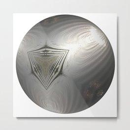 Globe12 Metal Print