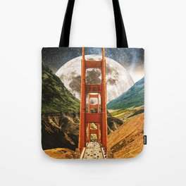 Bridge To The Universe Tote Bag