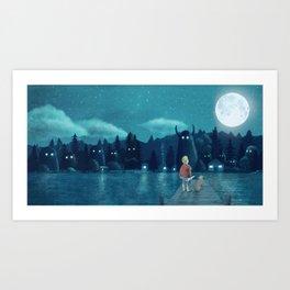 The Darkest Dark - Cover Art Print