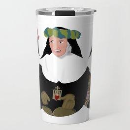 entre tinieblas Travel Mug