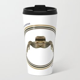 Tan Jumper Metal Travel Mug