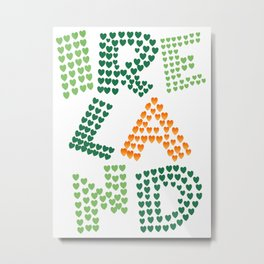 I love ireland (irish eyes are smiling they steal your heart) Metal Print