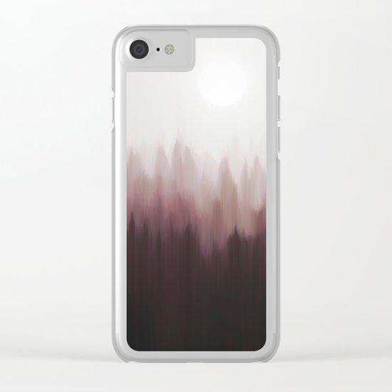 Autumn Fog Clear iPhone Case