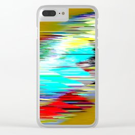 The race Clear iPhone Case