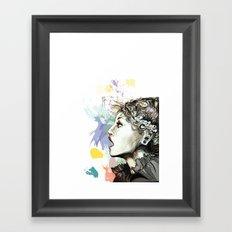 Before it ! Framed Art Print