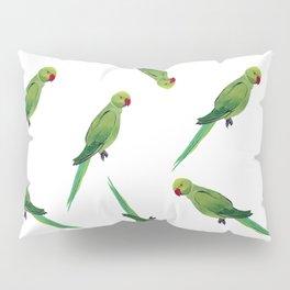 Indian Parrot Pillow Sham
