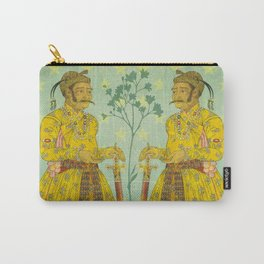 Mirrored Mughals Carry-All Pouch