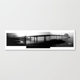 Roadway Composite 1 Canvas Print