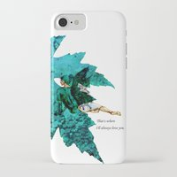 tinker bell iPhone & iPod Cases featuring Tinker Bell I'll always love you by Chien-Yu Peng