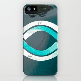 Eye of the Ocean iPhone Case