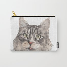 Normie the Cat - artist Ellie Hoult Carry-All Pouch