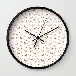 Wild Ducks Wall Clock