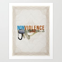 NONviolence Art Print