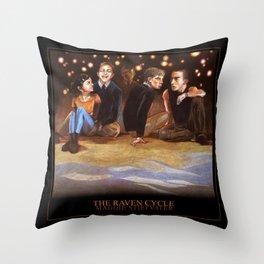 THE RAVEN CYCLE Throw Pillow