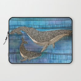 Two Whales Laptop Sleeve