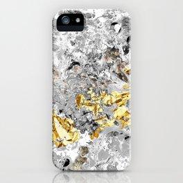Grey Fluid iPhone Case