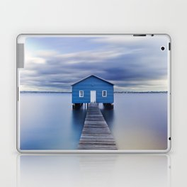 Blue Boat House Laptop & iPad Skin