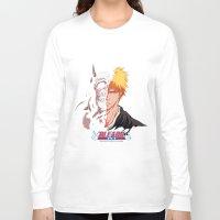 bleach Long Sleeve T-shirts featuring Bleach poster by Tremblax1