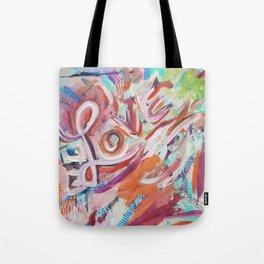 Love Grafitti Tote Bag