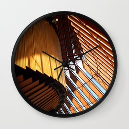 Inside Our Opera House Wall Clock
