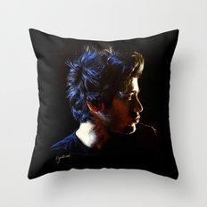 Blue Zayn Throw Pillow