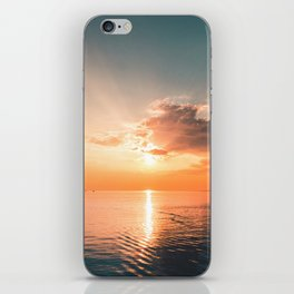Whitehaven Sunset iPhone Skin