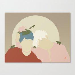 frogies Canvas Print