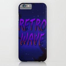 Retrowave Purple iPhone 6s Slim Case