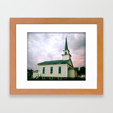 Church 2 Framed Art Print
